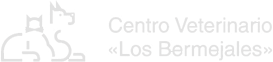 Logo Clínica Veterinaria Los Bermejales en gris